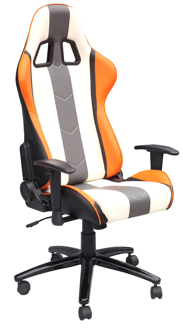 Reclining Adjustable Office Chair With Logo Printing / Computer Desk Chairs